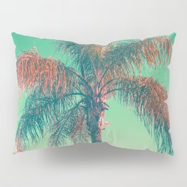 Red palm tree Pillow Sham