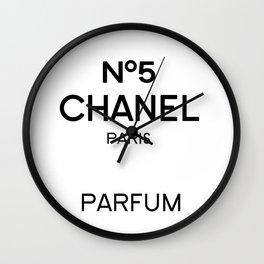 Perfume no5 Wall Clock