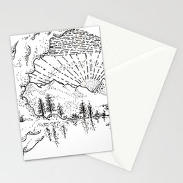 Sketch 37 - Mountain View Stationery Cards