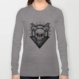 Demon Skull Long Sleeve T-shirt
