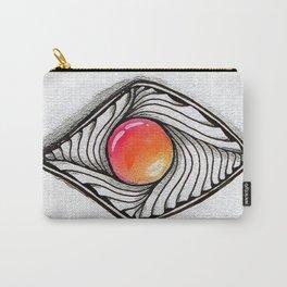 Doodled Gem Sparkle Eye Carry-All Pouch