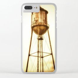 Texas Water Tower Clear iPhone Case