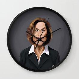 Celebrity Sunday ~ Gillian Anderson Wall Clock
