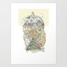 ///hue fuse/// Art Print