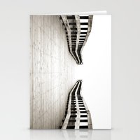boardwalk empire Stationery Cards featuring Boardwalk by Shaun Lowe