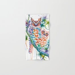 Momma and Baby Owls Hand & Bath Towel