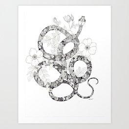 La Serpiente Art Print
