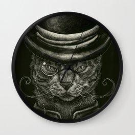 Classy Cat Wall Clock