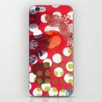 polka dot iPhone & iPod Skins featuring Polka-Dot by Liz Belen