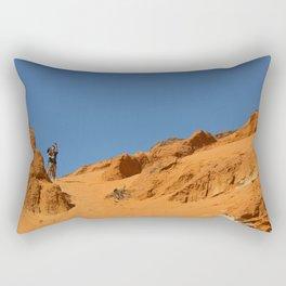 Red canyon Rectangular Pillow