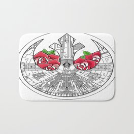 Rebel Alliance Millennium Falcon Bath Mat