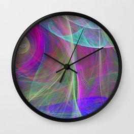Air colors Wall Clock