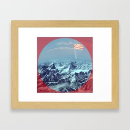 astronaut returns Framed Art Print