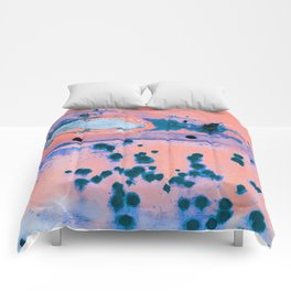 Riddled with Rust Cotton Candy Comforters
