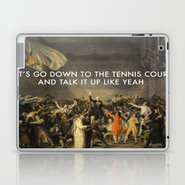 Tennis Court Oath Laptop & iPad Skin