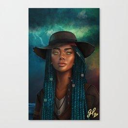 Storm Mistress Canvas Print