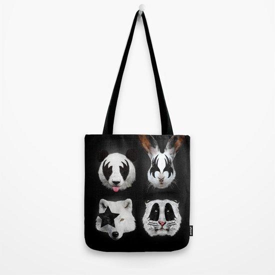 Kiss of animals Tote Bag