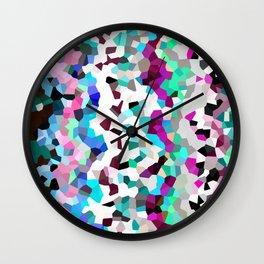 Frozen Moon Love Wall Clock