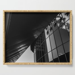 madrid cuatro torres business area Serving Tray