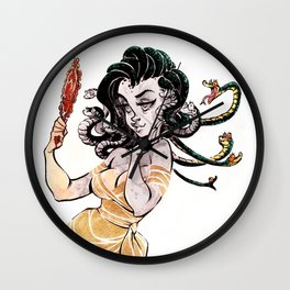 Gorgon problems Wall Clock