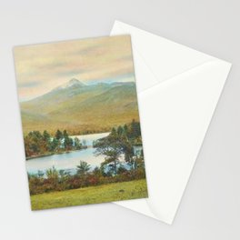 Hand Colored Photograph of Mt. Chocoura, New Hampshire 1920 Charles Henry Sawyer Stationery Cards