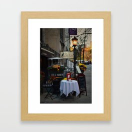 A Little bit of Paris in NYC Framed Art Print