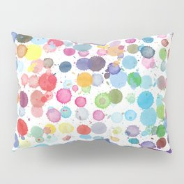 ink drops Pillow Sham