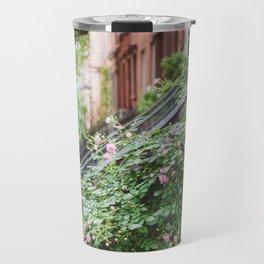 West Village Summer Blooms Travel Mug