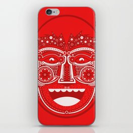 Red Is Mad iPhone Skin