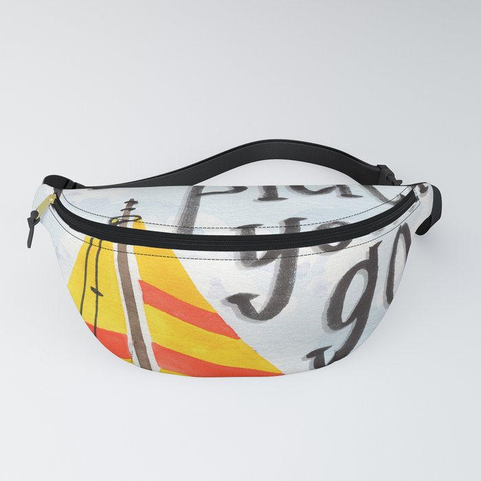 Oh the Places You'll Go - Dr. Seuss Fanny Pack