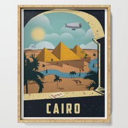 Vintage poster - Cairo Serving Tray
