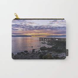 Portencross Jetty Sunset Carry-All Pouch