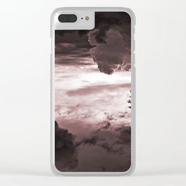# 295 Clear iPhone Case