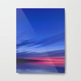 Lake Huron Sunset Metal Print