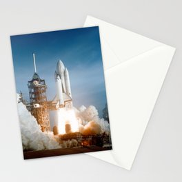 First Space Shuttle Launch Stationery Cards