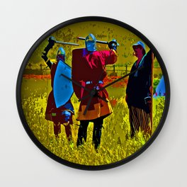 Days of Old - Medieval Times Wall Clock