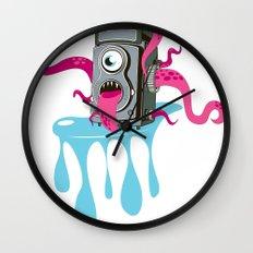Monster Camera Wall Clock