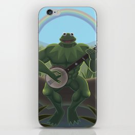 A Very Manly Muppet iPhone Skin