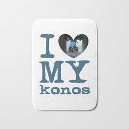 Love Mykonos Bath Mat