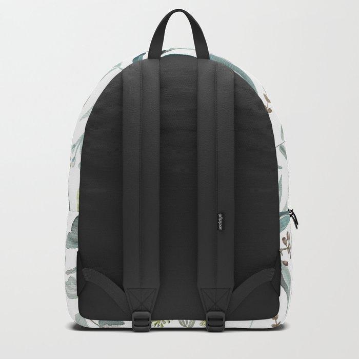 Eucalyptus pattern Backpack