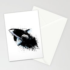 Oil escape Stationery Cards