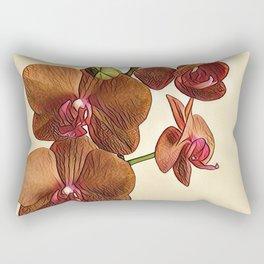 orhid 2 Rectangular Pillow