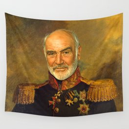 Sir Sean Connery - replaceface Wall Tapestry