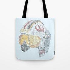 Rebel Pilot Tote Bag