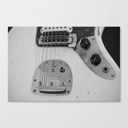 Classic Guitar 1 Canvas Print
