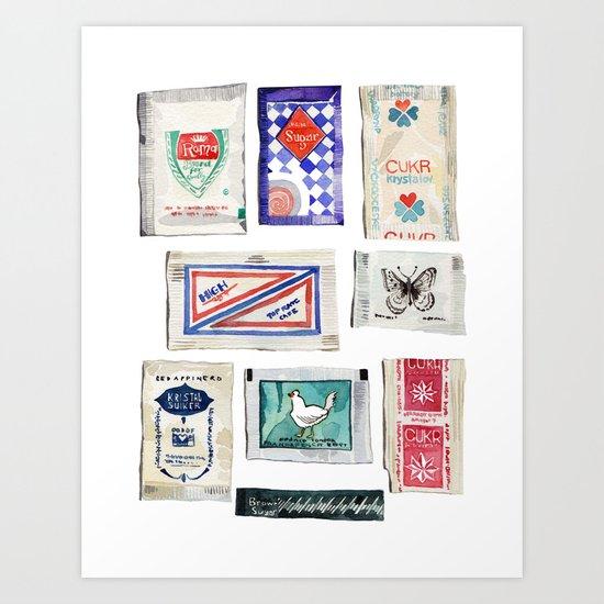 Sugar Collection Art Print