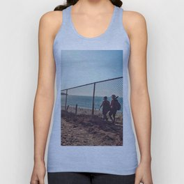 Hiking  view Unisex Tank Top