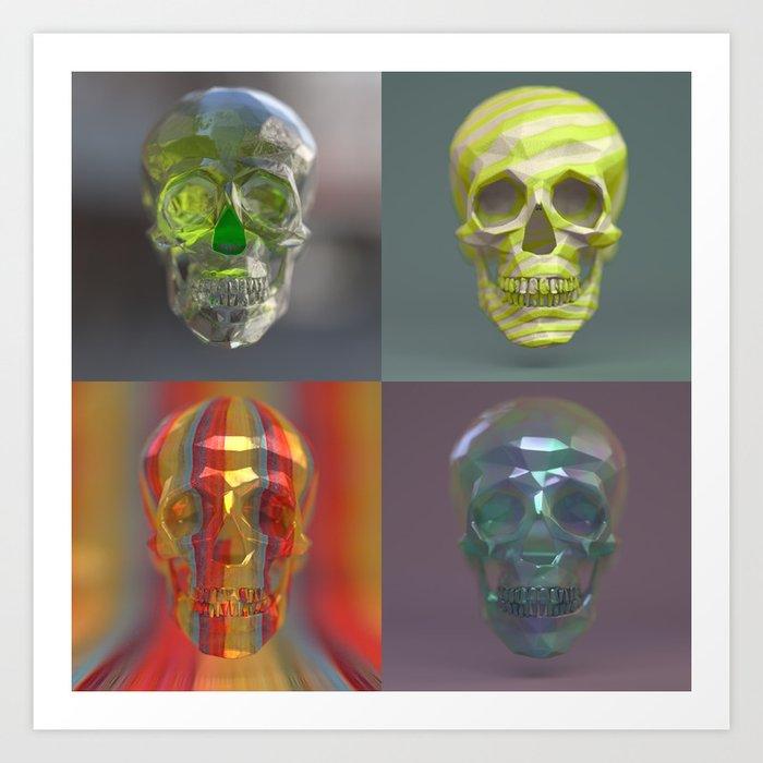 Skull Collection 05 Art Print