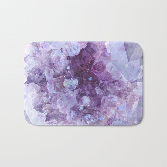 Crystal Gemstone Bath Mat