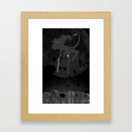 The Black - Black Belladonna Framed Art Print